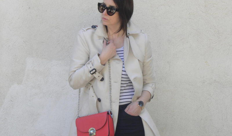 Raincoat and trench: a spring must have!