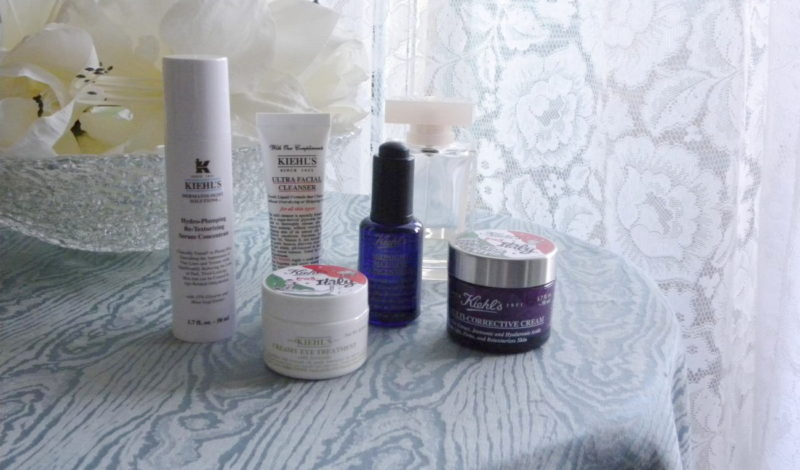 Kiehl's cosmetics: new skin products for my face!