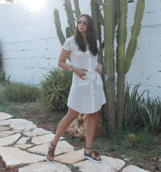 Chemisier dress: a simple but chic summer look