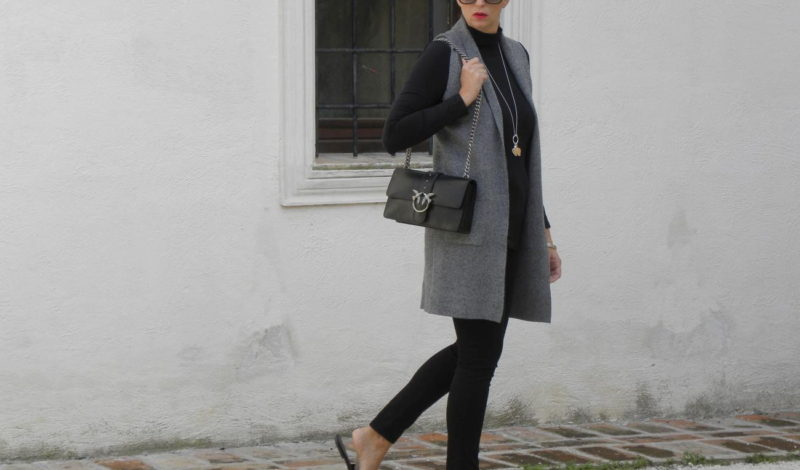 Fashion colors 2018: gray for a workwear look