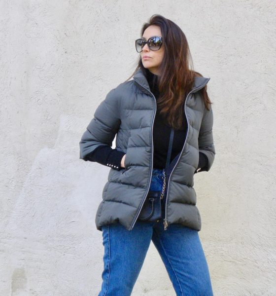 Woman down jacket: my idea of look!