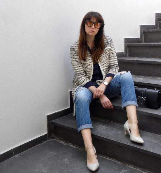 Spring jacket for women: a casual outfit idea for May