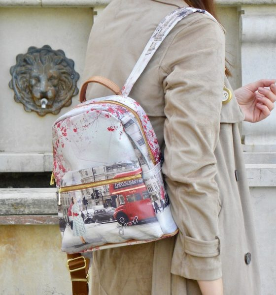 Backpack trend 2018: that's how I like to wear it!