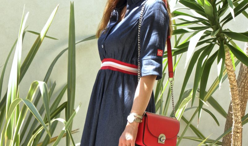 Long jeans dress for summer 2018: I chose Ynot? new collection!