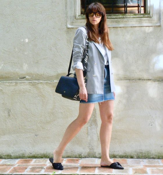 Jeans miniskirt summer 2018: the trend of the moment!