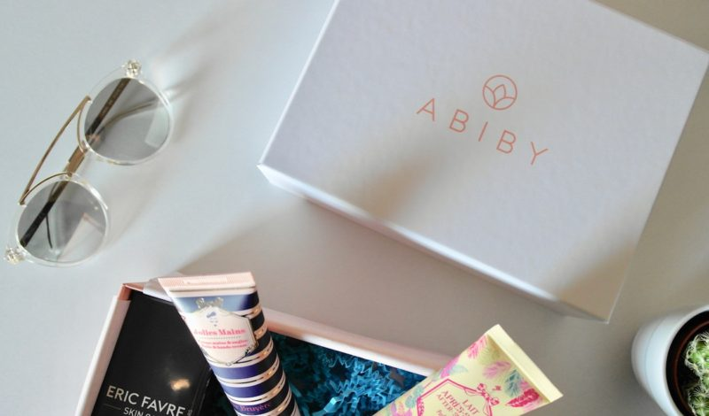 Abiby box: every month a beauty box directly at home!