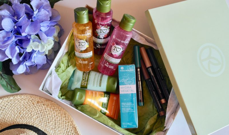 Cosmetics for the holidays: news by Yves Rocher!