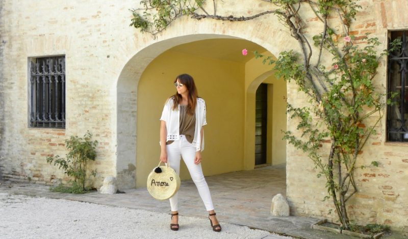 How to dress for a summer day: a daytime look