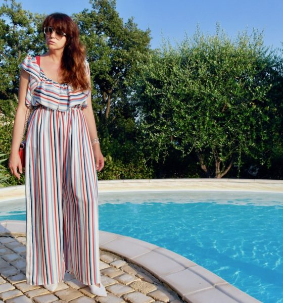 Elegant jumpsuit: my look for an elegant evening in French Riviera