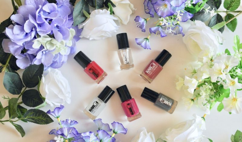 Long lasting gel nail polish: I tried the new colors by Kargi!