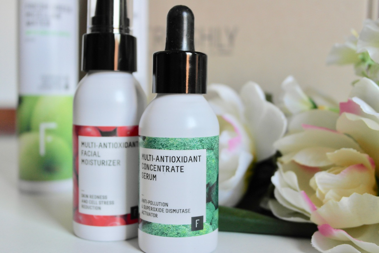 natural products Freshly cosmetics