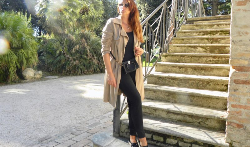 How to wear a trench coat: an idea look for September!