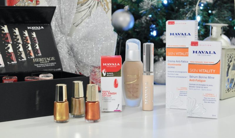 Preparing for Christmas holidays: perfect with the Mavala beauty box!