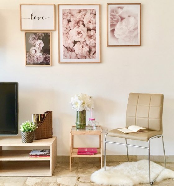 How to embellish an empty wall: ideas and suggestions!