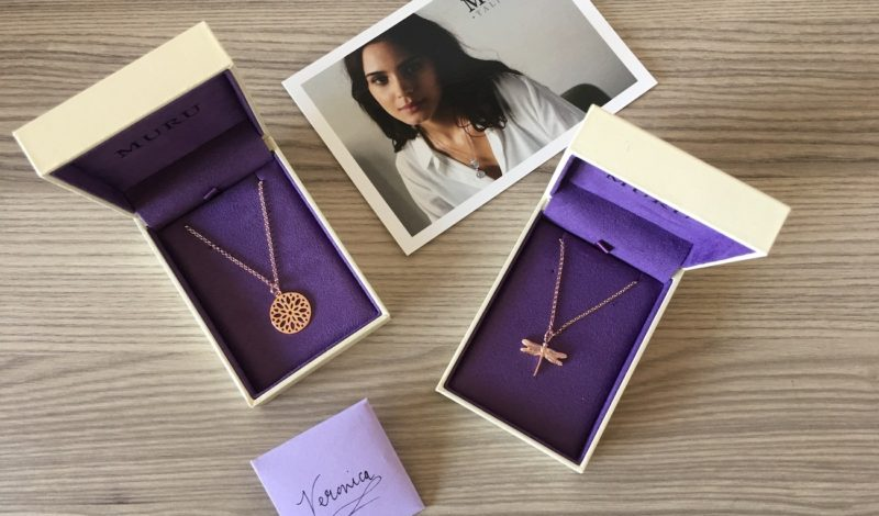 Double necklace with pendants: 2019 jewelry trend