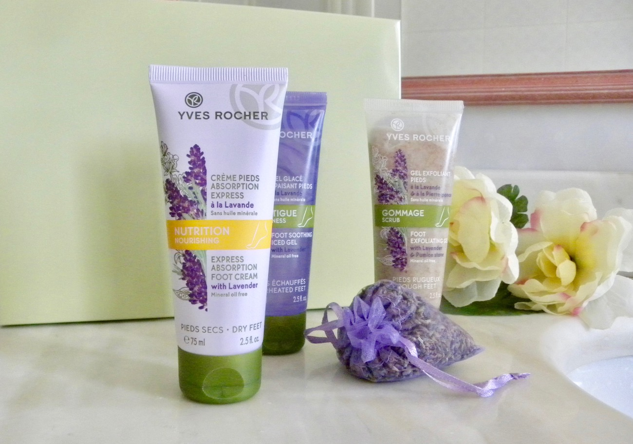 Perfect feet: ready for the summer with the Yves Rocher new products