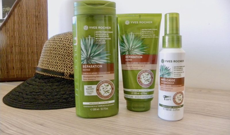 Damaged hair remedies: try the new restructuring line for hair Yves Rocher