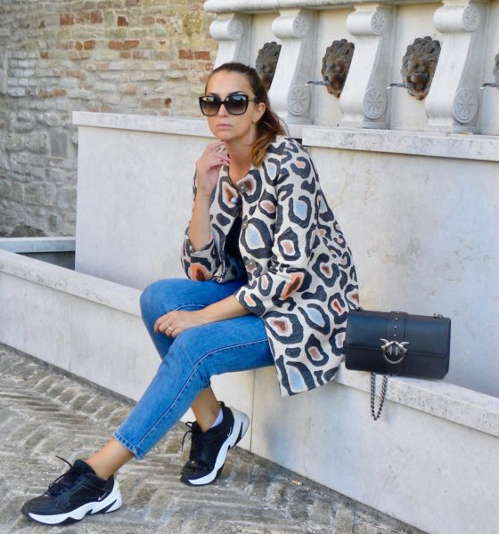 Giacca animalier tendenza 2019: un'idea per indossarla!