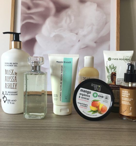 Body skin routine: here are all the products that I use!